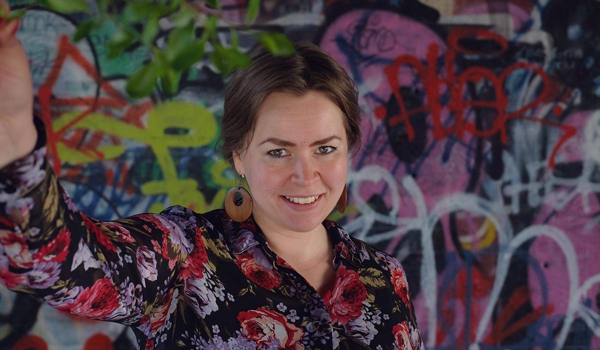 Malena Haglundista Hurmoksen art director